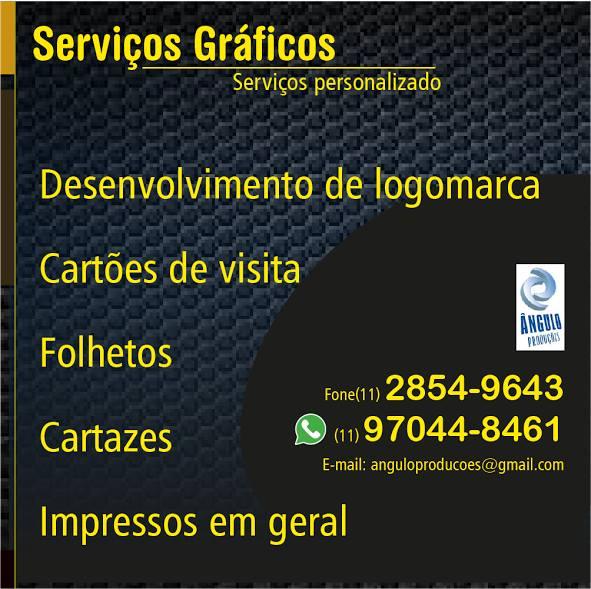 #publicidade angulo produções serviços gráfico