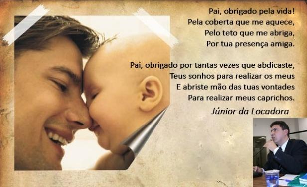 Mensagem Dia dos Pais - Júnior da Locadora 2