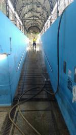 SSU limpando passagem 03