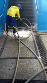 SSU limpando passagem 04