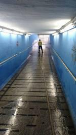 SSU limpando passagem 05