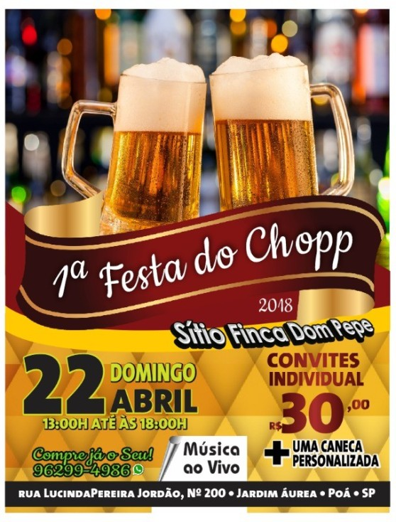 festa do chopp flávio